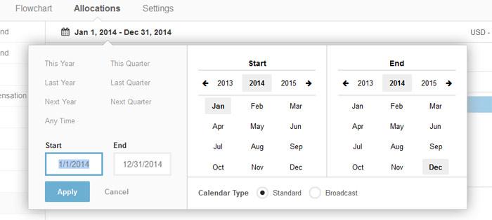 reporting-calendar