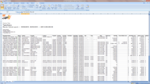 Media Plan Excel Export