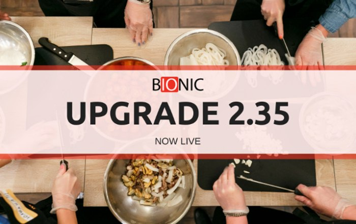 Bionic Releases v2.35 Media Planning Software Upgrade