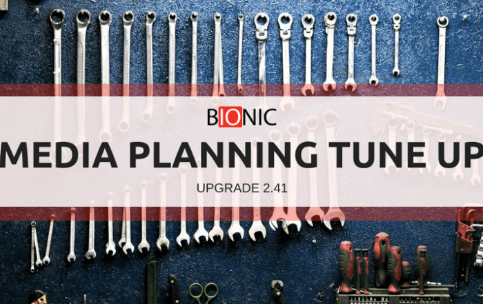 Tune Up for a Better Media Planning Experience