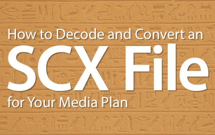 How to Decode and Convert an SCX File for Your Media Plan
