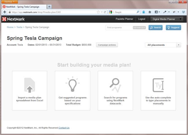 digital media planning just got even easier