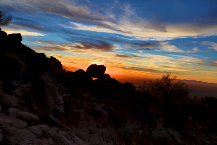 camelback-sunset-rock