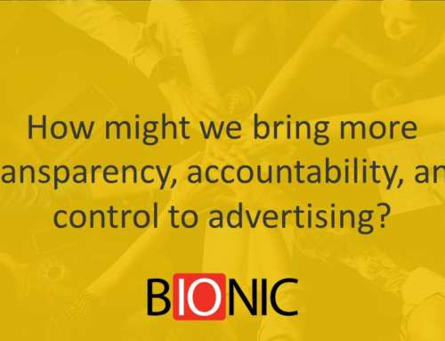 How Might We Bring More Transparency, Accountability, and Control to Advertising?