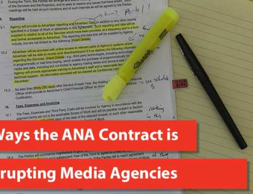 7 Ways the ANA Contract is Disrupting Media Agencies
