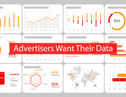 Advertisers Want Their Data (or else!)