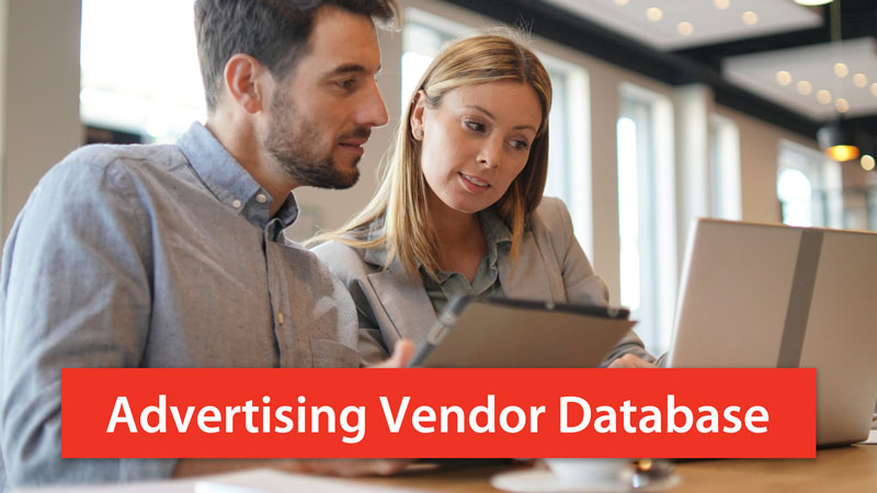 Advertising Vendor Database