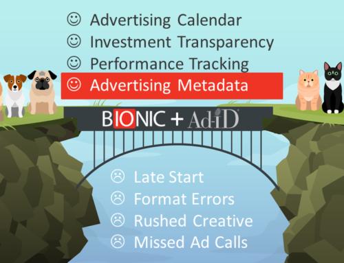 Demo of Bionic + Ad-ID Integration